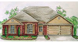 New Homes in LaPlace Louisiana LA - Country Cottage by Hoffman Custom Built Homes LLC