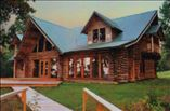 New Homes in Alexandria Louisiana LA - The Ridge Log Cabin on 30 Acres by Toups Construction & Design