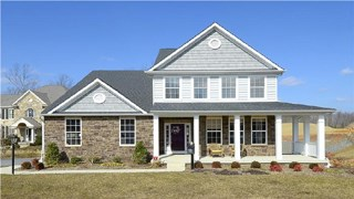 New Homes in Maryland MD - The Woods at Myrtle Point by Curtis Homes