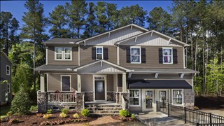 New Homes in Raleigh Durham North Carolina NC - The Meadows - Basement Homes by KB Home