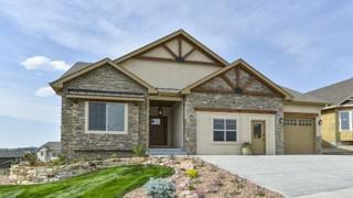 New Homes in Colorado Springs Colorado CO - Northgate Estates Model by Hammer Homes, Inc