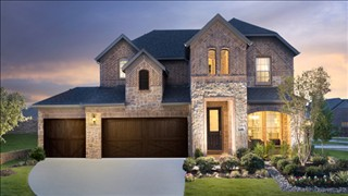New Homes in Texas TX - Canyon Falls - Uplands Collection by Meritage Homes