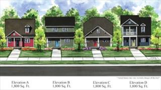 New Homes in North Carolina NC - Garman Homes at Wendell Falls by Newland Communities