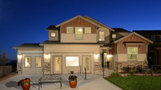 New Homes in Colorado Springs Colorado CO - Hannah Ridge by Classic Homes