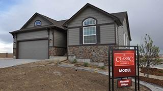 New Homes in Colorado Springs Colorado CO - Hannah Ridge by Classic Homes