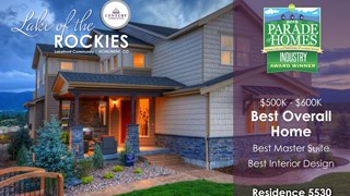 New Homes in Colorado Springs Colorado CO - Lake of the Rockies by Century Communities