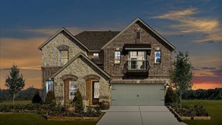 New Homes in Texas TX - Meritage Homes at Canyon Falls by Newland Communities