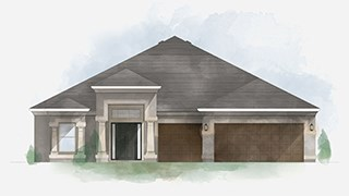 New Homes in Tampa Bay Florida FL - The Preserve at Bullfrog Creek  by Inland Homes