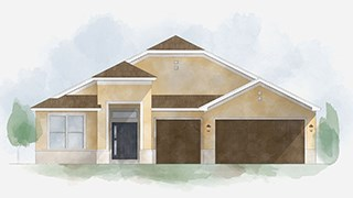 New Homes in Tampa Bay Florida FL - The Reserve at Hunters Lake by Inland Homes