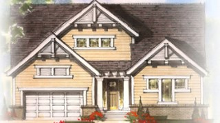 New Homes in Westfield Indiana IN - Irving Collection in Harmony by Estridge Homes