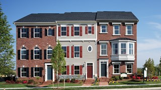 New Homes in Maryland MD - Clarksburg Village (Townhomes) by Craftmark Homes
