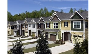 New Homes in North Carolina NC - Townes at WoodCreek by Taylor Morrison
