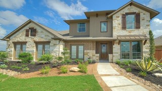 New Homes in Texas TX - Santa Rita Ranch South 60' by Wilshire Homes