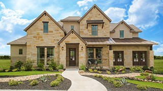 New Homes in Texas TX - Wolf Ranch 71' by Coventry Homes