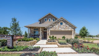 New Homes in Texas TX - Chesmar Homes 45s at Rancho Sienna by Newland Communities