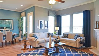 New Homes in Texas TX - Larkspur by MileStone Community Builders