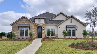 New Homes in Texas TX - Saddle Creek Estates by Jeffrey Harrison Homes