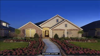 New Homes in Texas TX - Bella Vista 55' by Perry Homes