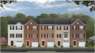 New Homes in Virginia VA - Townhomes at Lakeside by Hazel Homes