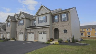 New Homes in Pennsylvania PA - Trio Fields Designer Townhomes by Kay Builders