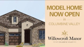 New Homes in - Willowcroft Manor at Columbine Valley by Taylor Morrison