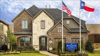 New Homes in Texas TX - Parkside East 50' by Plantation Homes