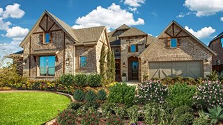 New Homes in Texas TX - Hollyhock by Coventry Homes