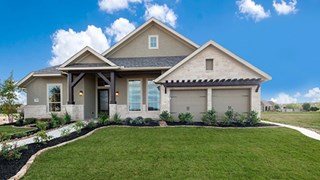 New Homes in Texas TX - Perry Homes 70s/80s at Rancho Sienna by Newland Communities