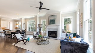 New Homes in Georgia GA - The Park at Historic Roswell by Monte Hewett Homes